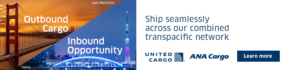 Ship seamlessly across our combined transpacific network